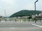 f0813 呉羽橋から五月山を望む