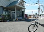 f0119 茨木市福井バイクで山行く時の休憩場所に自転車で