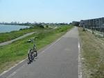 f0120 淀川から神崎川が別れる場所の少し下流