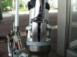 f0212 折り畳み自転車のハンドル部