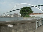 f0220 木津川渡船場と木津川大橋